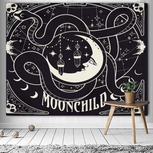 SOLD  - ⭐️NEW⭐️Moon & Star Tapestry Wall Hanging